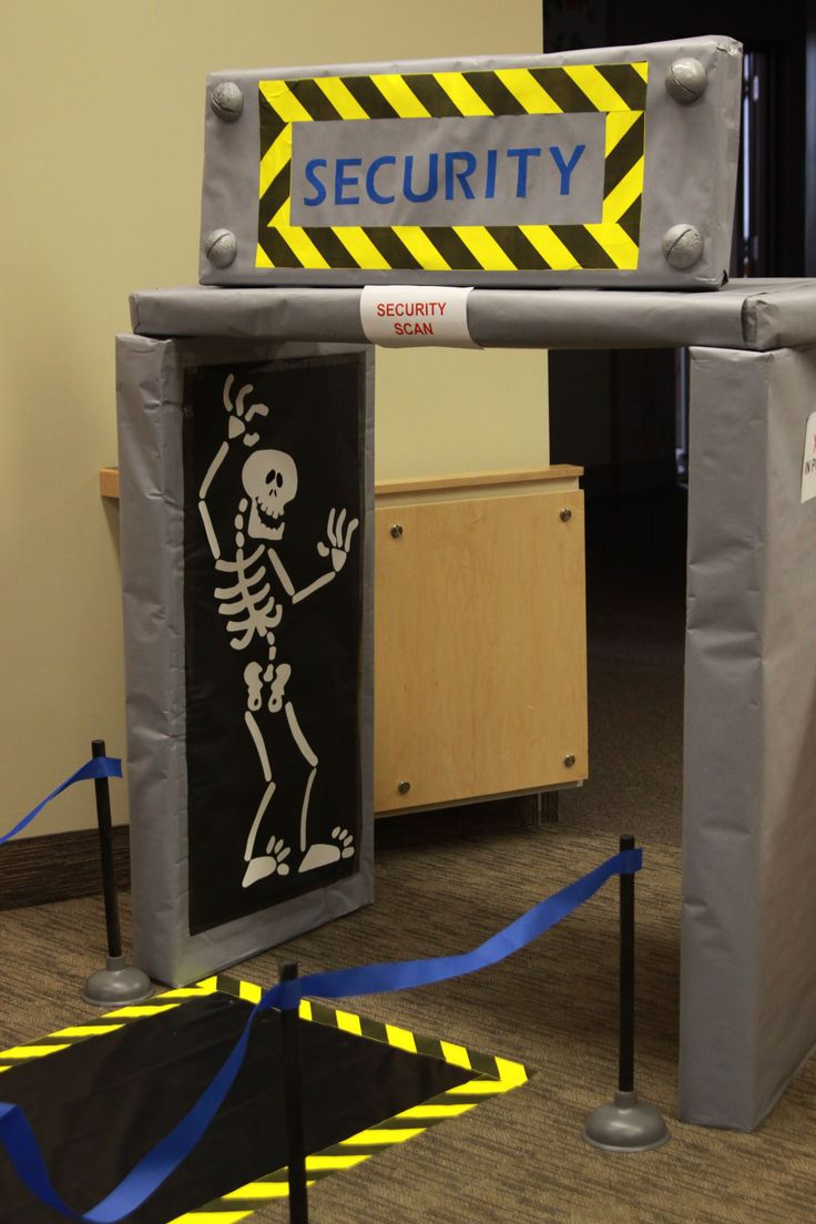 Preschool Entry - X-ray Security Scanner