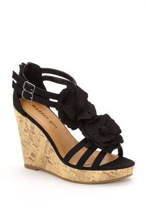 Kork Gold tone Wedges Spring/summerMiu Miu