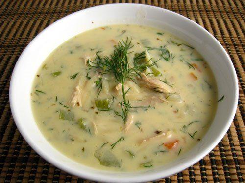 ... Chicken Soup, Summer Soup, Food Recipe, Greek Chicken, Avgolemono Soup