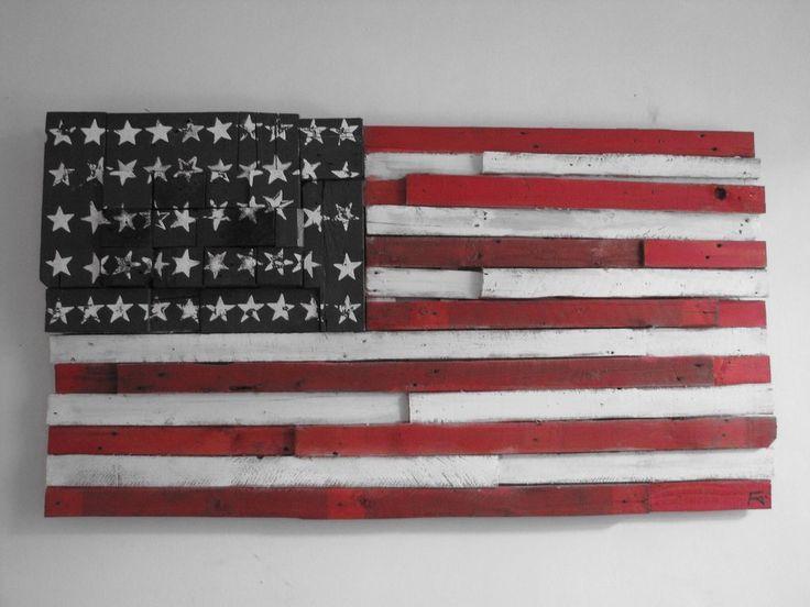 Quadro Bandiera americana, by Flag art lab, 280,00€ su #misshobby.com