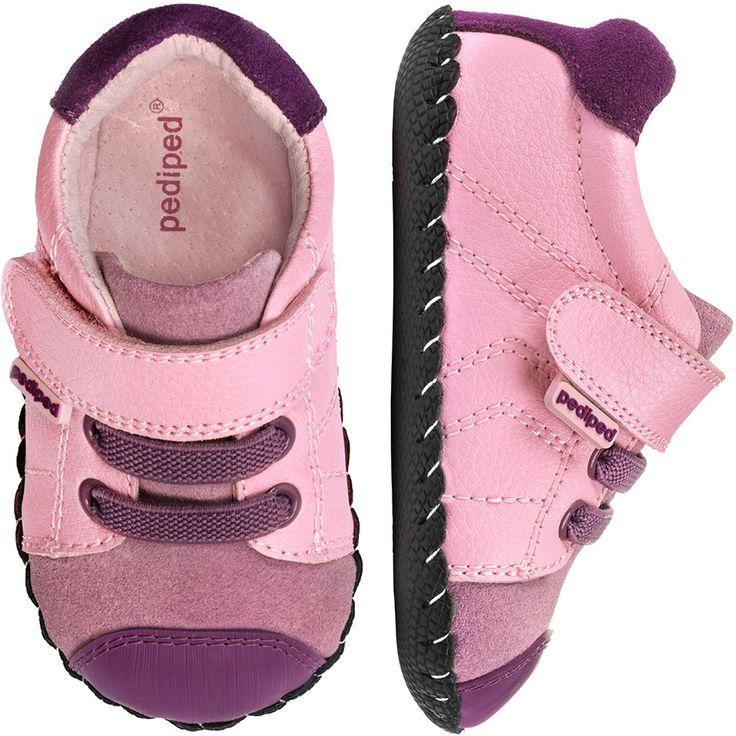 Zapatos rosas Pediped infantiles HPD5KLo