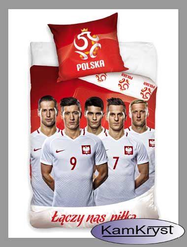 Dla kibiców reprezentacji Polski kolejny wzór pościeli z naszymi piłkarzami.