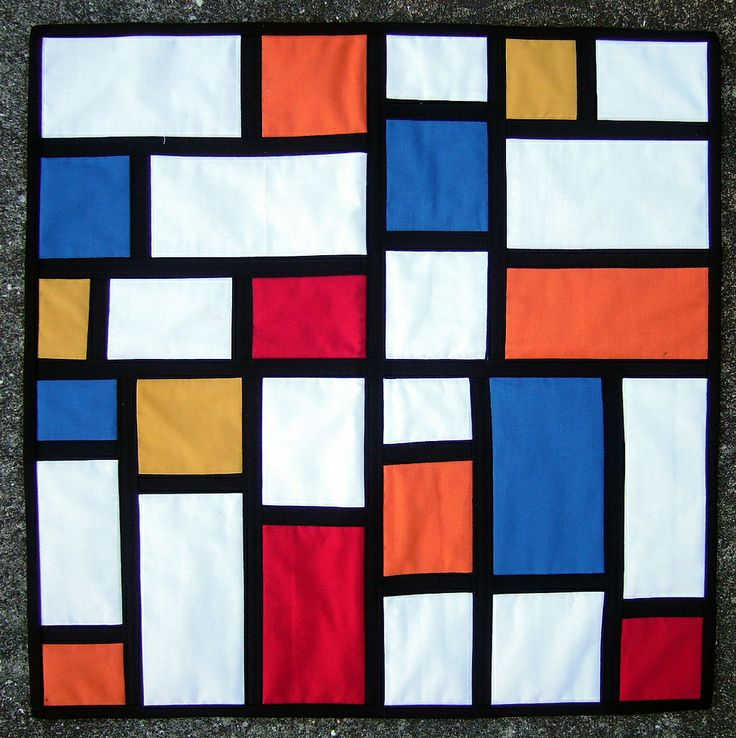 42 best quilts inspired by piet mondrian images on pinterest modern quilting quilt modern. Black Bedroom Furniture Sets. Home Design Ideas