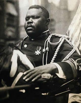<b>Marcus</b> <b>Garvey</b> Riding In Car in U.N.I.A. <b>Parade</b>