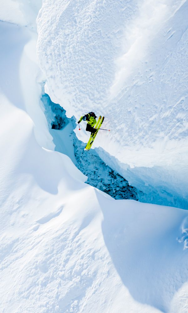 Townsend's wild ride through the slot canyon in Alaska's Tordrillo Mountains captivated the skiing world and, thanks to YouTube and his helmet cam footage, millions of viewers across the globe.