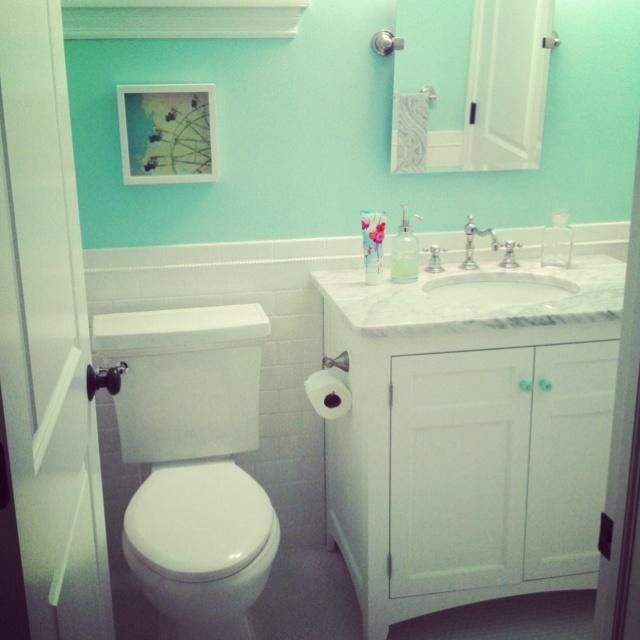 Green Bathroom With Modern And Cool Design Ideas Mint Green