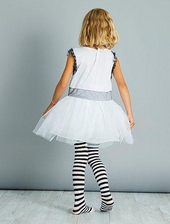 Déguisement de fantôme                             blanc Enfant   - Kiabi