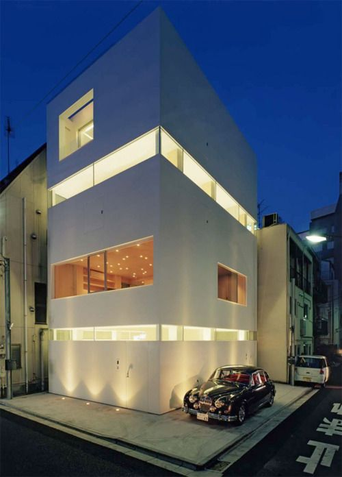 53 best japanese architecture images on pinterest for Contemporary office building design