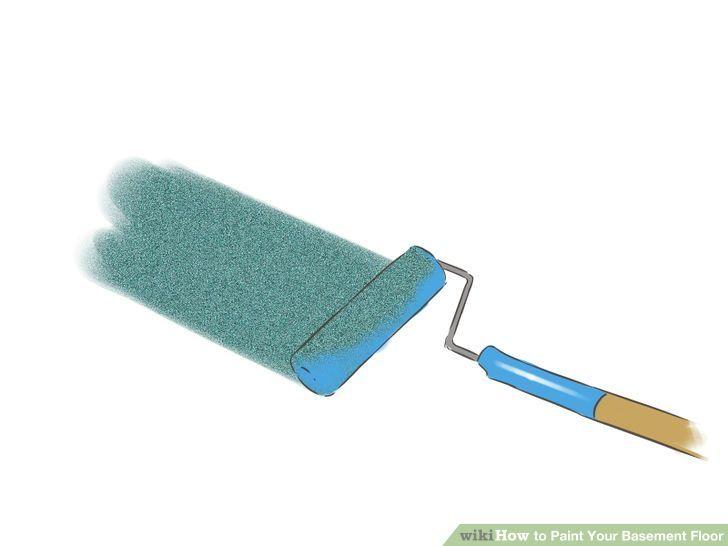 How to paint your basement floor