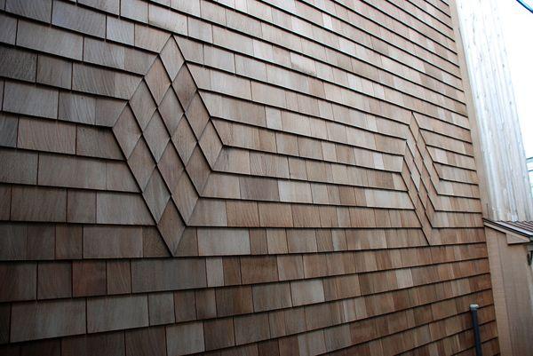 Shingle Siding Designs Western Red Cedar Shingles