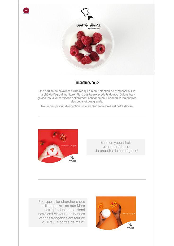 Création marque et campagne publicitaire on Behance