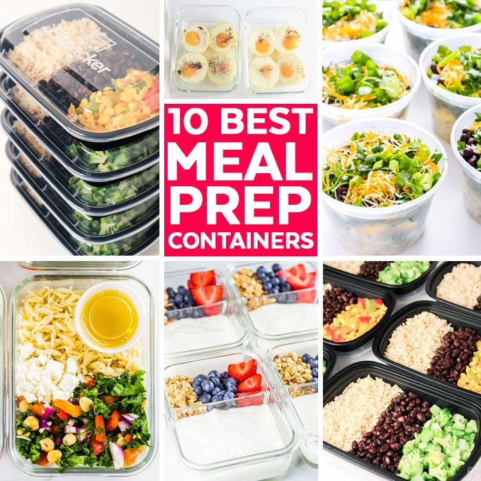 10 Best Meal Prep Containers Best Meal Prep Containers Best
