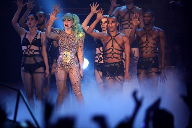 Lady Gaga at Ent Centre - Sydney Monster's ball