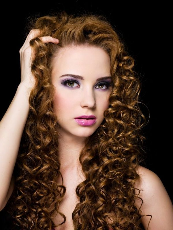 Long Permed Hairstyles 6