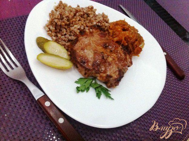 Стейк из свининой шеи - пошаговый рецепт с фото