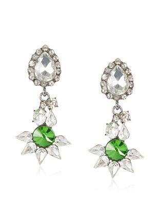 Leslie Danzis Stone-Encrusted Post Drop Earrings