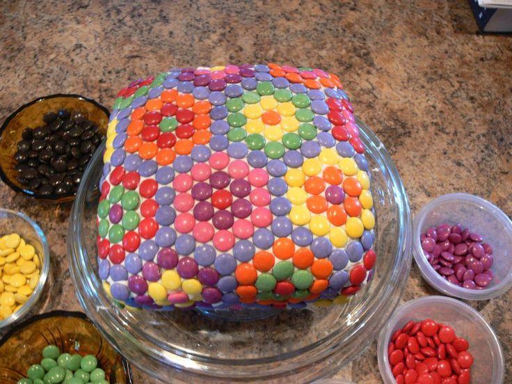Smarties Cake Super Hero Cakes Pinterest Cakes