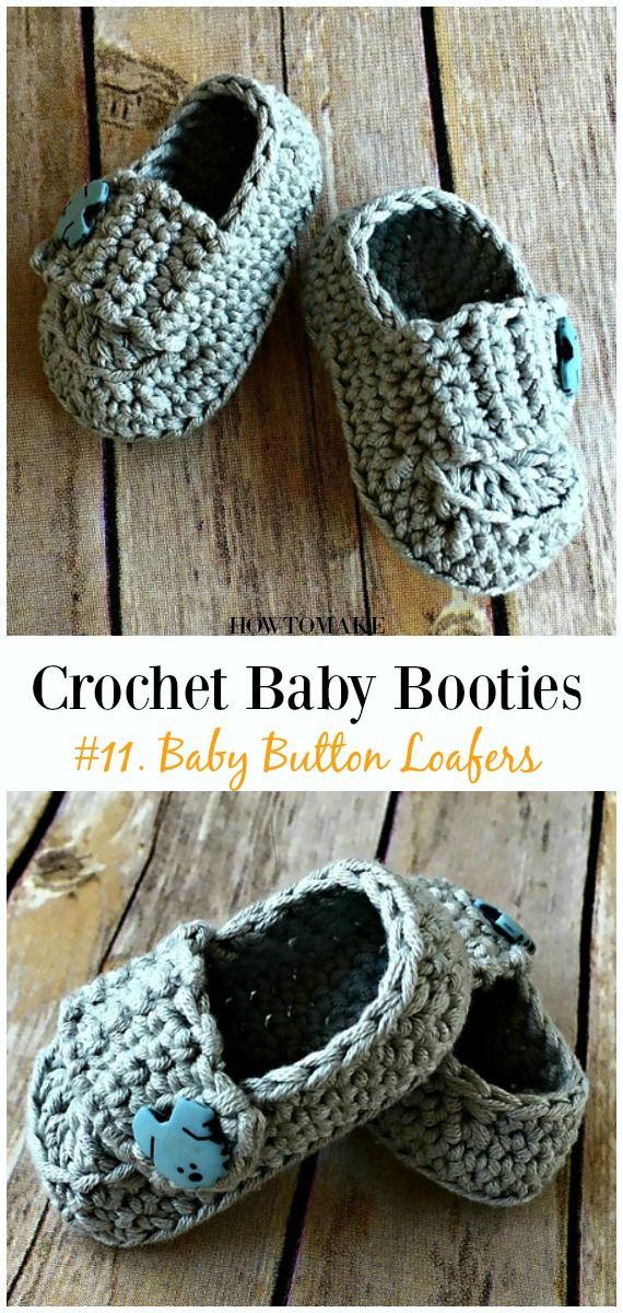 Baby Booties Free Crochet Patterns Crochet Pinterest Crochet