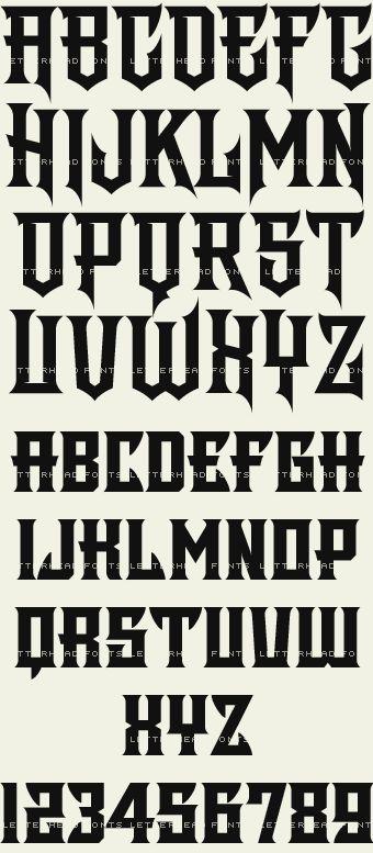 Letterhead Fonts / Shogun / Asian Fonts