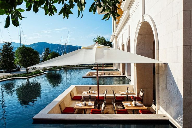 Nestled along the Adriatic coast, the Regent Porto Montenegro Hotel boasts impeccable ocean views and graceful interiors