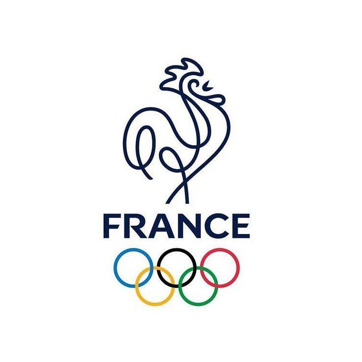 France's 2024 Olympics Logo  #olympics #design #branding #creative #inspiration…