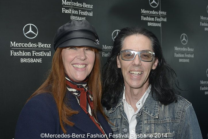 Stylist extraordinaire Kimberly Gardner and Darb Couture's Brad Webb
