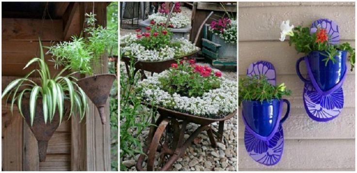 Gyönyörű virágok ültetése különleges cserepekbe! Remek ötletek! - Bidista.com - A TippLista!