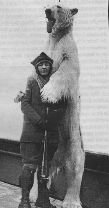 Historical Badass: A socialite of the Arctic. Not the bear, fyi. http://www.adventure-journal.com/2014/12/historical-badass-arctic-explorer-and-scientific-patron-louise-boyd/