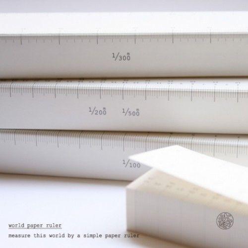 水越設計|世界紙尺