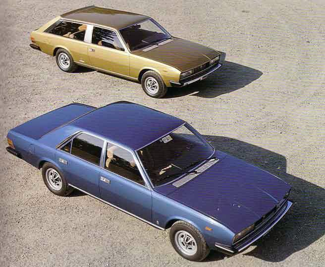 Fiat 130 Opera and Maremma by Pininfarina, 1975