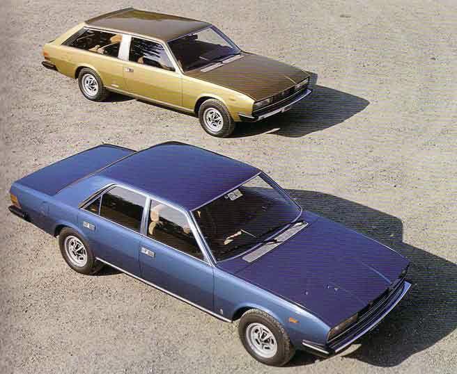 Fiat 130 Opera and Maremma by Pininfarina, 1975