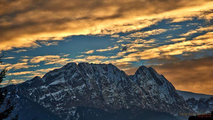 Tatry - zachód słońca