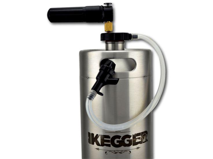 The Complete Picnic Tap System | iKegger #keg #growler #beer #minikeg #brewing #growlerfillfriday #homebrew #craftbeer #craftbeernotcrapbeer