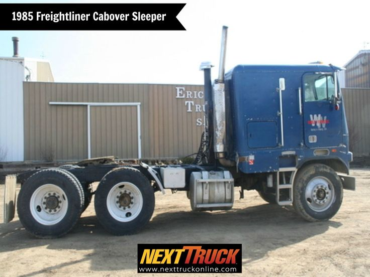 #ThrowbackThursday Check out this 1985 #Freightliner Cabover Sleeper! View more Freightliner #Trucks at http://www.nexttruckonline.com/trucks-for-sale/by-make/Freightliner #Trucking #NextTruck