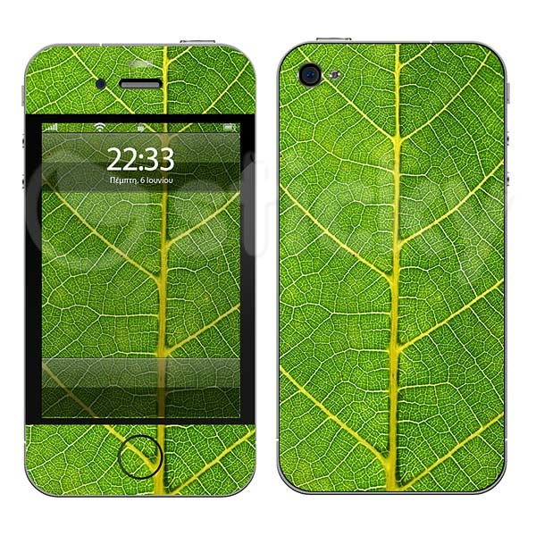 Mobile Sticker SKIN LEAF by Sticky!!!