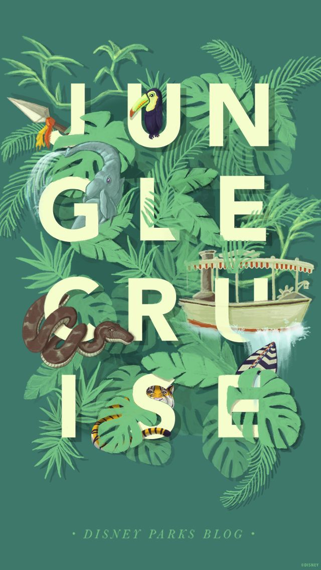 Jungle Cruise Disney Wallpaper Use In Pocket Scrapbook In 2020 Disney Parks Blog Disney Posters Disney Wallpaper