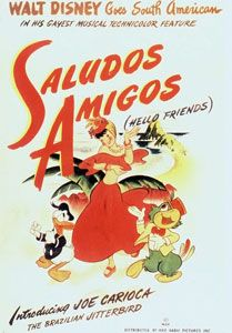 """Buenos dias! A Disney short featuring Donald Duck and fine feathered amigos. You will want to wait for """"The Three Caballeros"""" to see the three amigos in action!"""