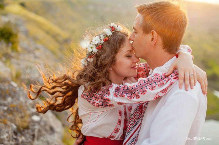 Romanian traditional wedding.