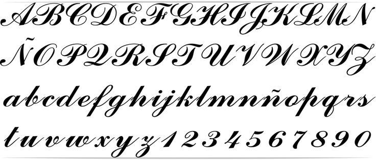 Resultado de imagen para letras goticas cursivas