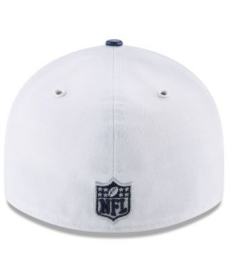 New Era Dallas Cowboys 2017 Low Profile Draft 59FIFTY Cap - White/Navy 7 1/4