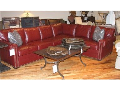 Shop For Vanguard Furniture Outlet American Bungalow Leather Sectional By  Vanguard Furniture, L622 LSS. Discount Furniture StoresFurniture ...