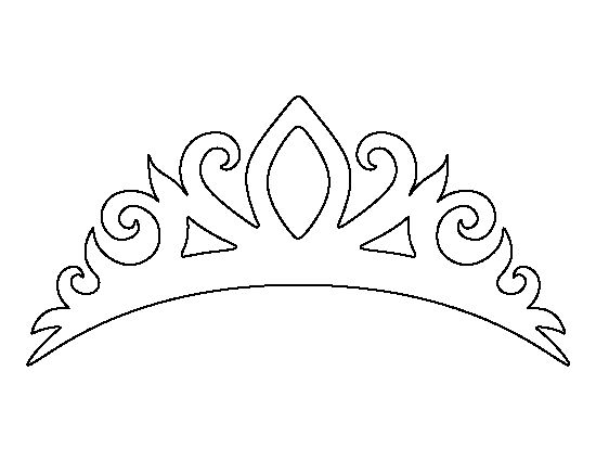 Simplicity image intended for printable tiara