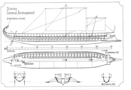28 best trireme images on pinterest | ships, vintage boats ...