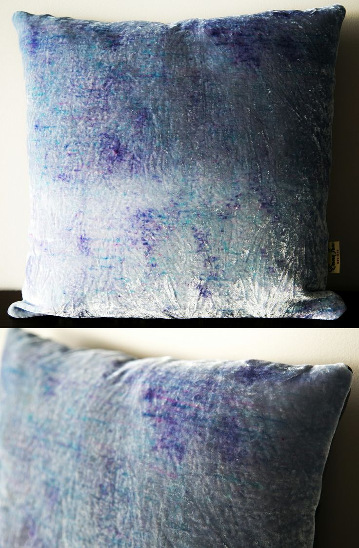Spring inspired velvet ombre cushions available from my Etsy store: www.etsy.com/listing/183892435
