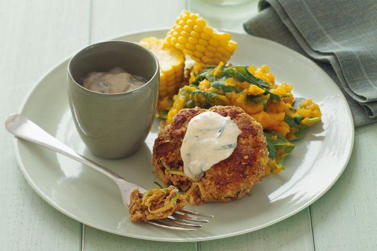 Zucchini Rissoles Recipe - Taste.com.au