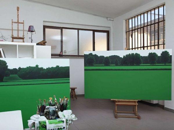 Lo studio di Valentina D'amaro   (Foto by Massimiliano Rossin)