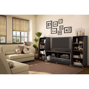 South Shore City Life Black Entertainment Center, for TVs up to 50 inch