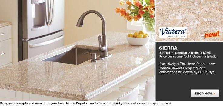 Sierra Quartz Countertop Gallery   Kitchen   Pinterest   Countertop,  Countertops And Countertop Options