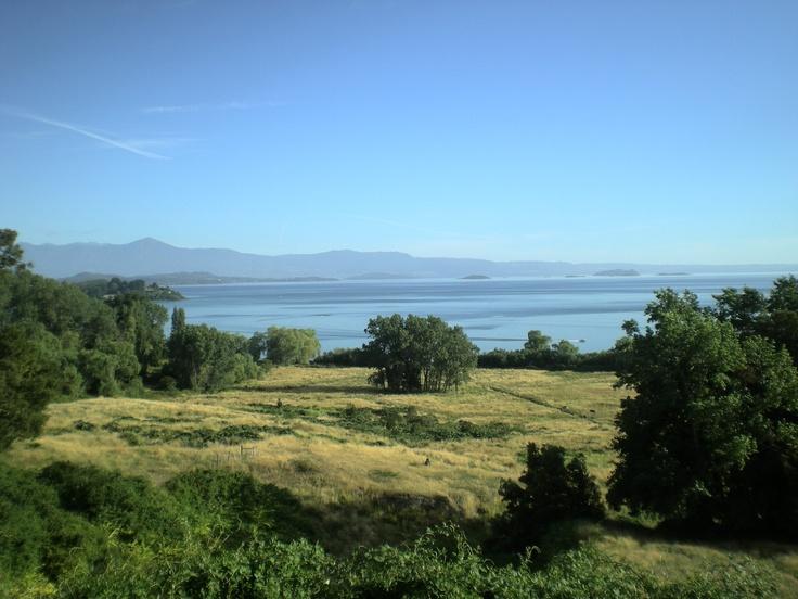 Entrada a Futrono, Lago Ranco, Región de los Ríos, Chile