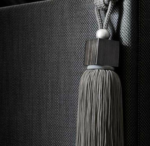 """""""savana"""" by houles Paris grey tassel tieback"""